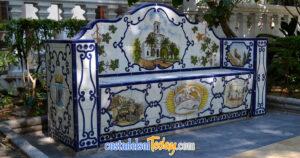 Ceramic Bench, Alameda Park, Marbella, Spain OG01