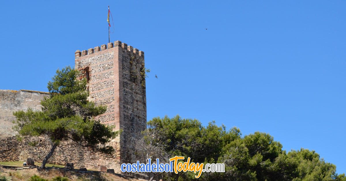 Sohail Castle (Fuengirola Castle) - An Imposing Fortified Structure Dating Back Centuries - Castle and Grounds now a Tourist Attraction and Event Venue