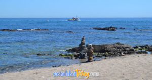 The Warm Shallow Waters of Fuengirola Beach